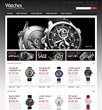Responsive Wrist Watches Store - PrestaShop Theme #42977 by Hermes