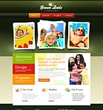 Website template #43009 by Delta