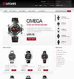 Stylish Watches - PrestaShop Theme #43057 by Hermes