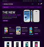 Mobile Store - PrestaShop Theme #43058 by Ares