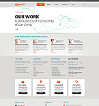 Website template #43089 by Cerberus