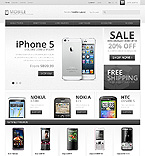 Mobile Phones - PrestaShop Theme #43093 by Ares