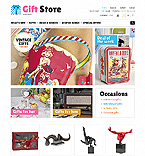 Gift Store - PrestaShop Theme #43096 by Di