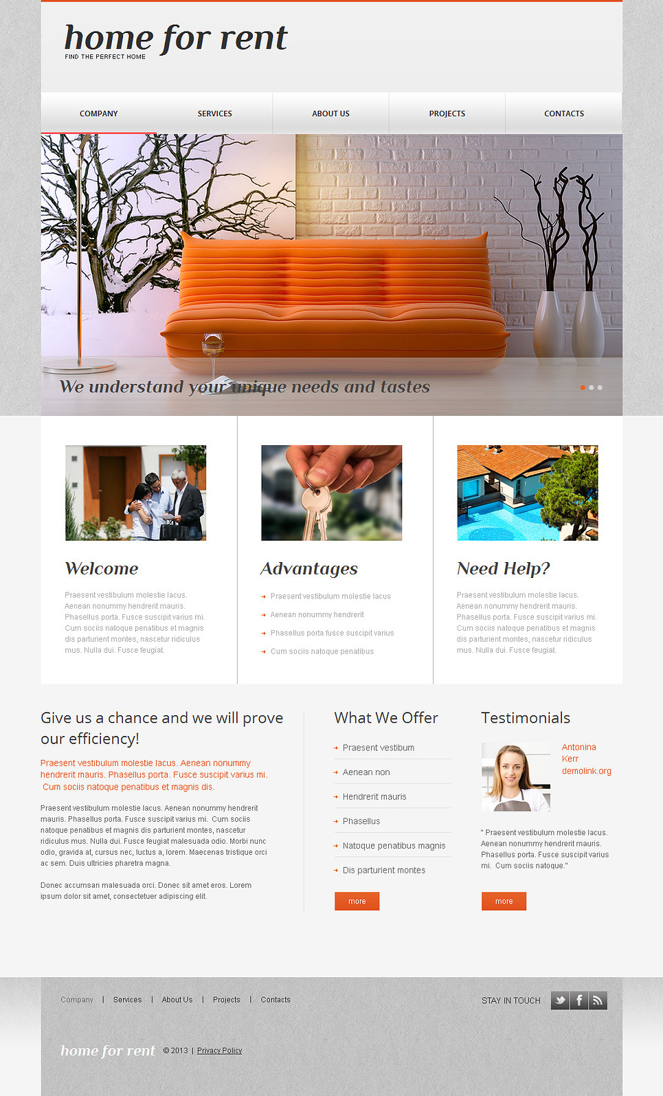 Real Estate Website Template - Find Home for Rent with Ease - image