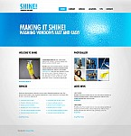 Stretched Flash CMS Theme #43181