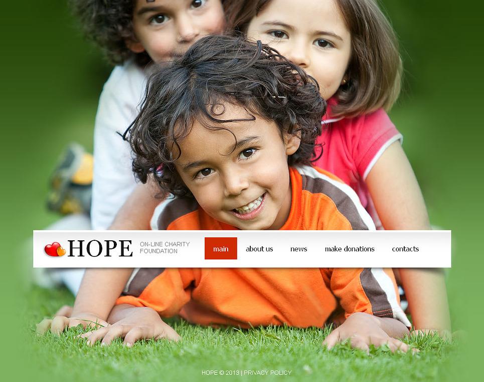 MotoCMS HTML Vorlage #43242 aus der Kategorie Wohltätigkeit - image