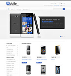 Mobile Phones - PrestaShop Theme #43271 by Hermes