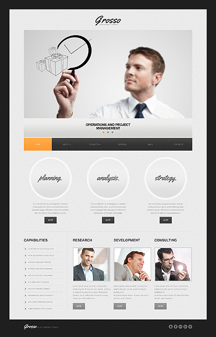 Grosso - Best Responsive WordPress Theme