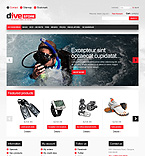 Dive Store - PrestaShop Theme #43287 by Hermes