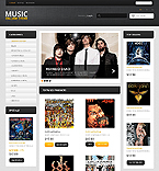 Music Online - PrestaShop Theme #43293 by Ares