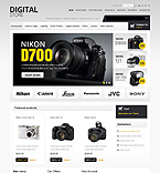 osCommerce template #43337 by Hermes