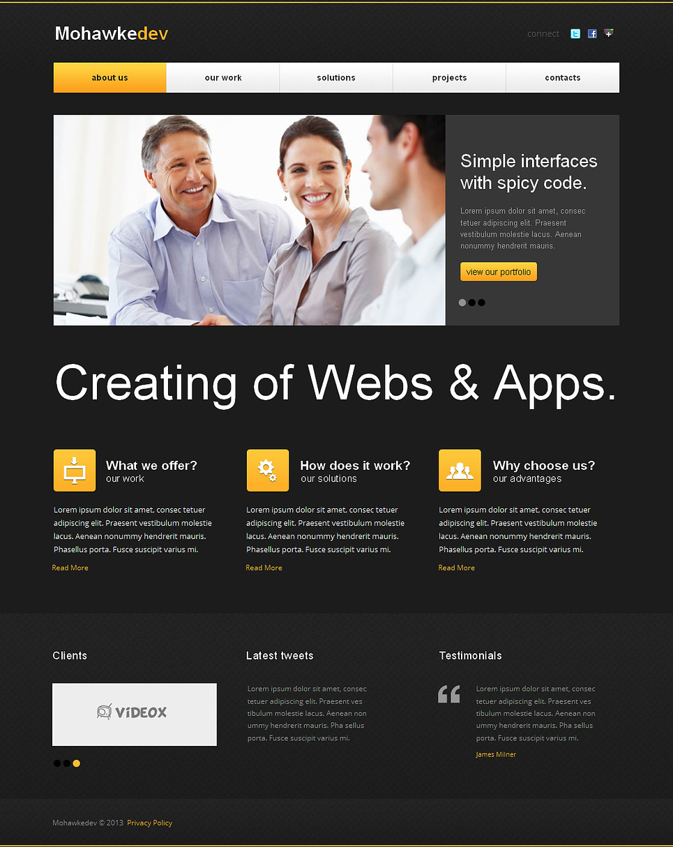 MotoCMS HTML Vorlage #43389 aus der Kategorie Internet - image