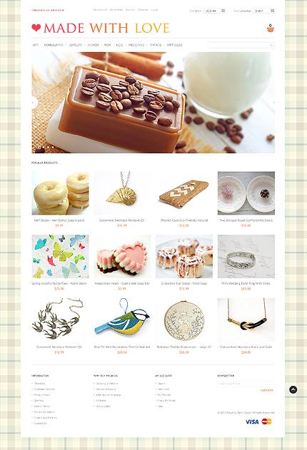 Handmade Gifts - Premium Magneto Handicrafts Theme