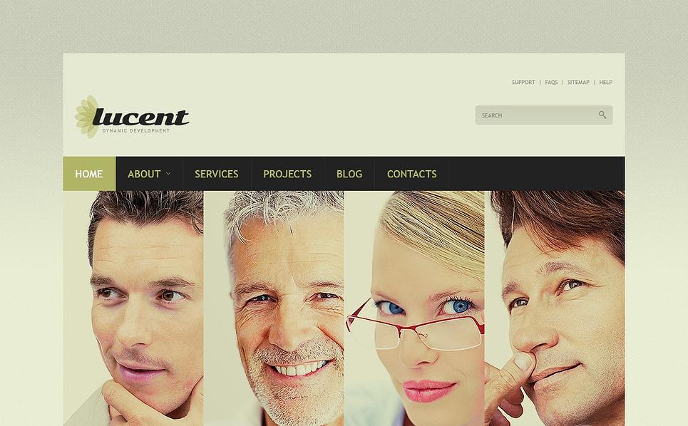 Cherry Management WordPress Theme New Screenshots BIG