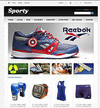 Sporty - PrestaShop Theme #43471 by Di