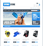 Diving Store - PrestaShop Theme #43478 by Sawyer