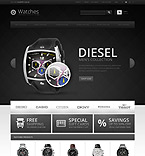 Premium Watches - PrestaShop Theme #43481 by Ares