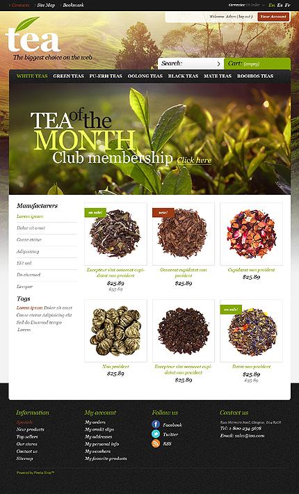 Tea Island - Best Tea Shop PrestaShop Theme