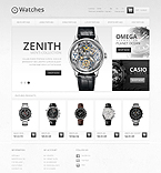 Luxury Watches - PrestaShop Theme #43485 by Ares