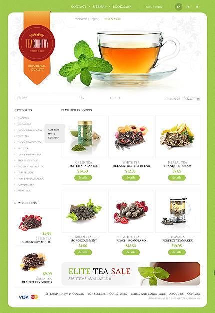 Tea country - Ultimate Tea Shop PrestaShop Theme