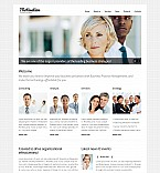 Stretched Flash CMS Theme #43499