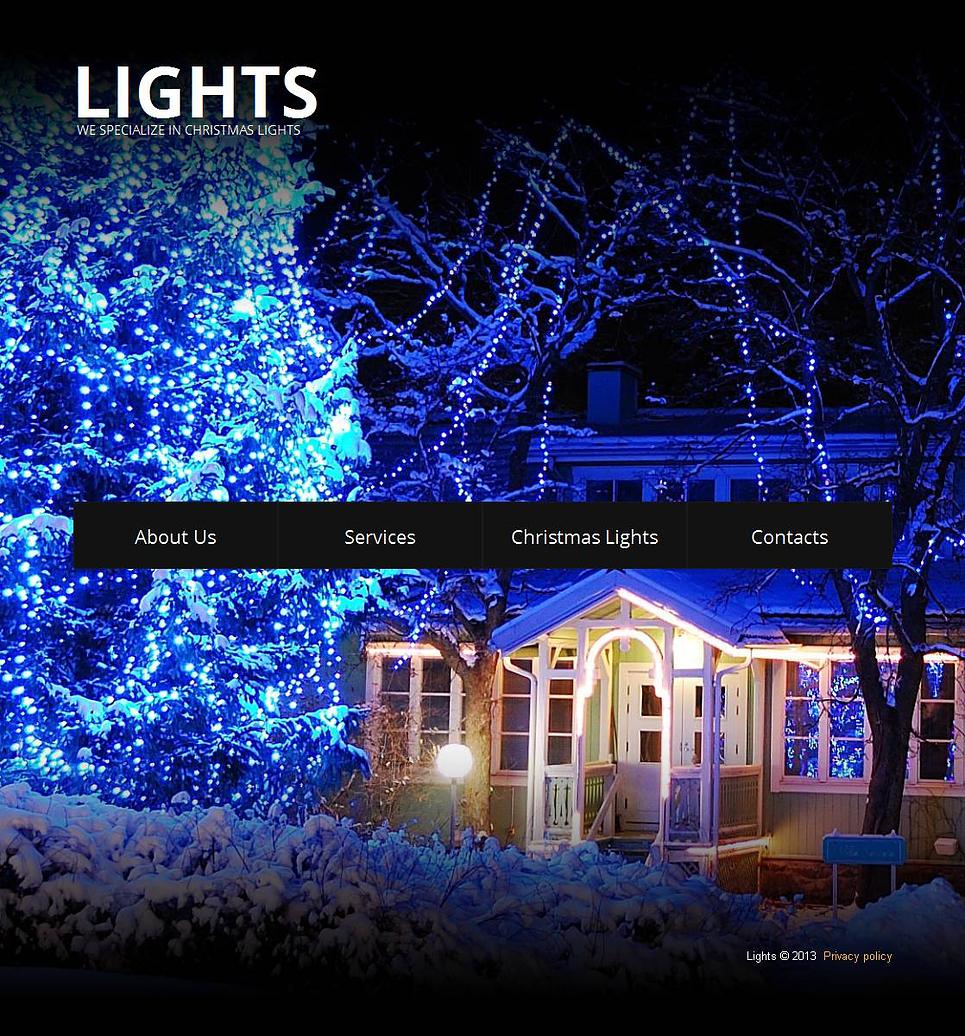 MotoCMS HTML Vorlage #43512 aus der Kategorie Weihnachts Vorlagen - image