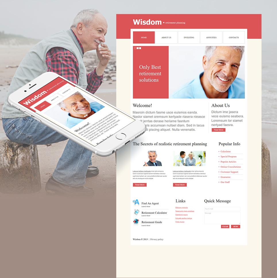 MotoCMS HTML Szablon #43519 z kategorii Społeczeństwo i Kultura - image
