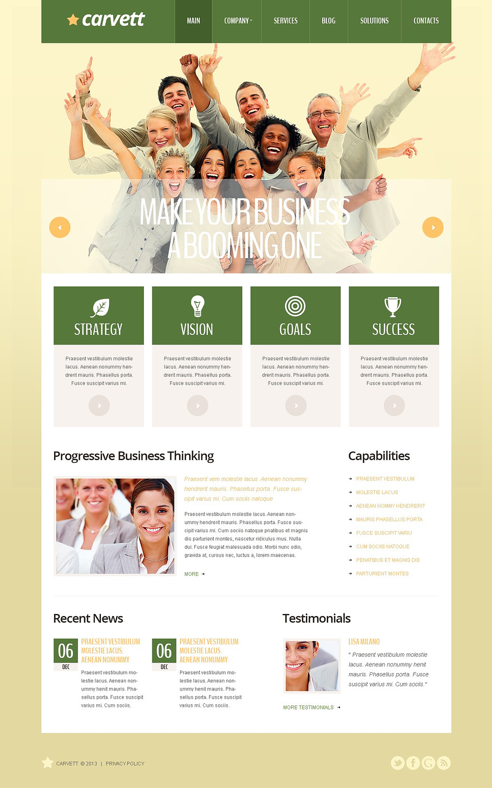 Cherry Marketing Agency WordPress Theme New Screenshots BIG