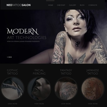 Tattoo free website templates for free download about (1) free ...