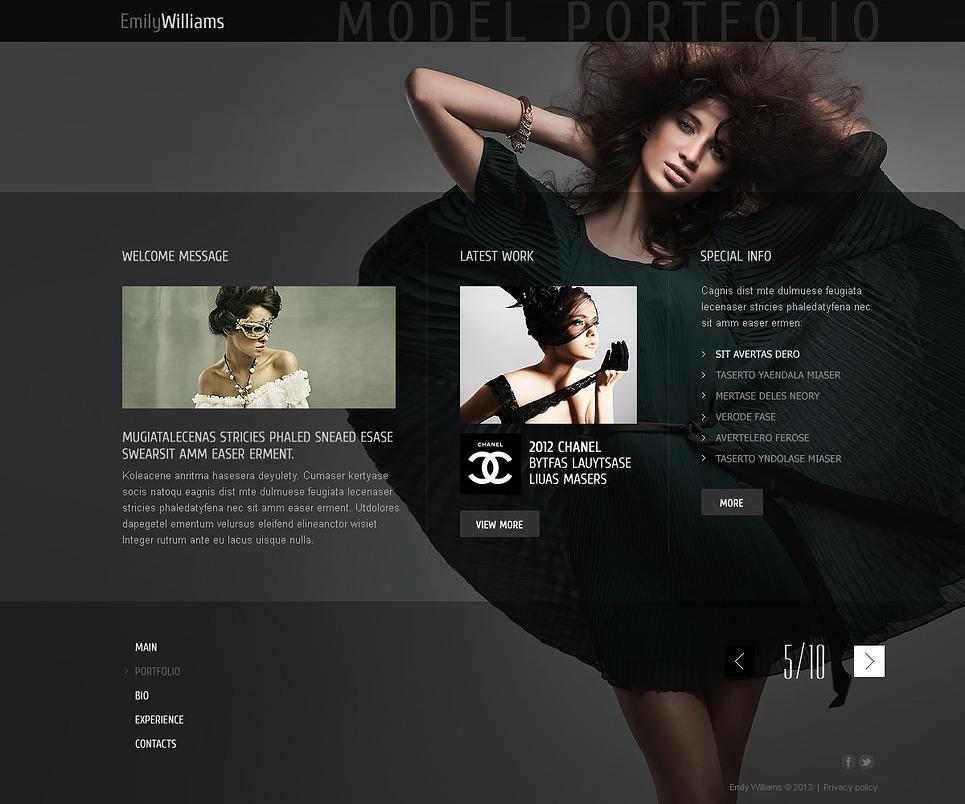 Models Online Portfolio images