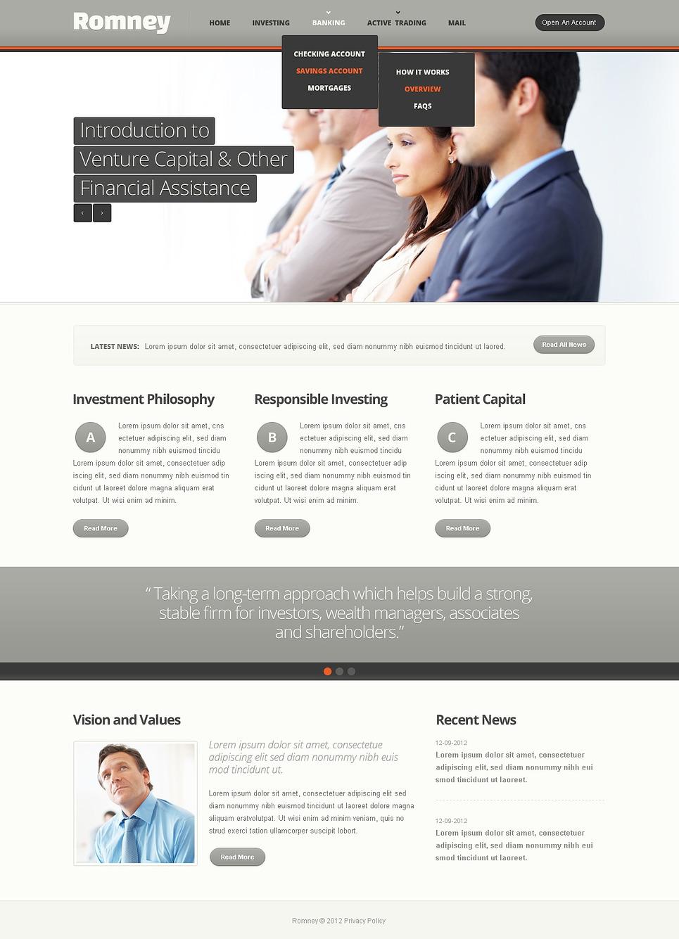 Joomla Template for Web Development Company