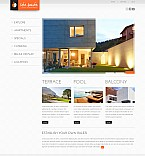 Stretched Flash CMS Theme #43605