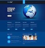 Stretched Flash CMS Theme #43606