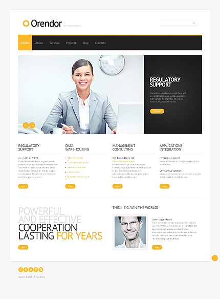 Orendor - Best Business Responsive WordPress Theme