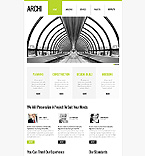 Website template #43638 by Jenny