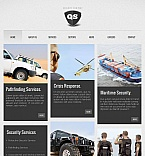 Facebook HTML CMS Template #43685