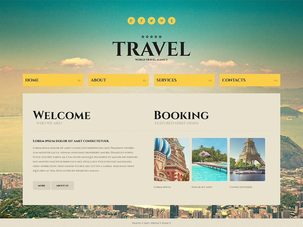 Free Web Templates  Free web designs templates and more!