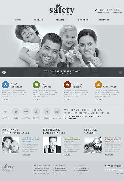 Safety - Best Responsive WordPress Theme