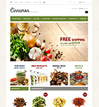 Spices & Herbs - PrestaShop Theme #43717 by Di