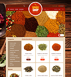 Spice Shop - PrestaShop Theme #43719 by Delta
