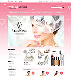 Wedding Dresses - PrestaShop Theme #43759 by Di