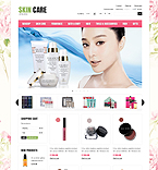 Skin Care - PrestaShop Theme #43784 by Di