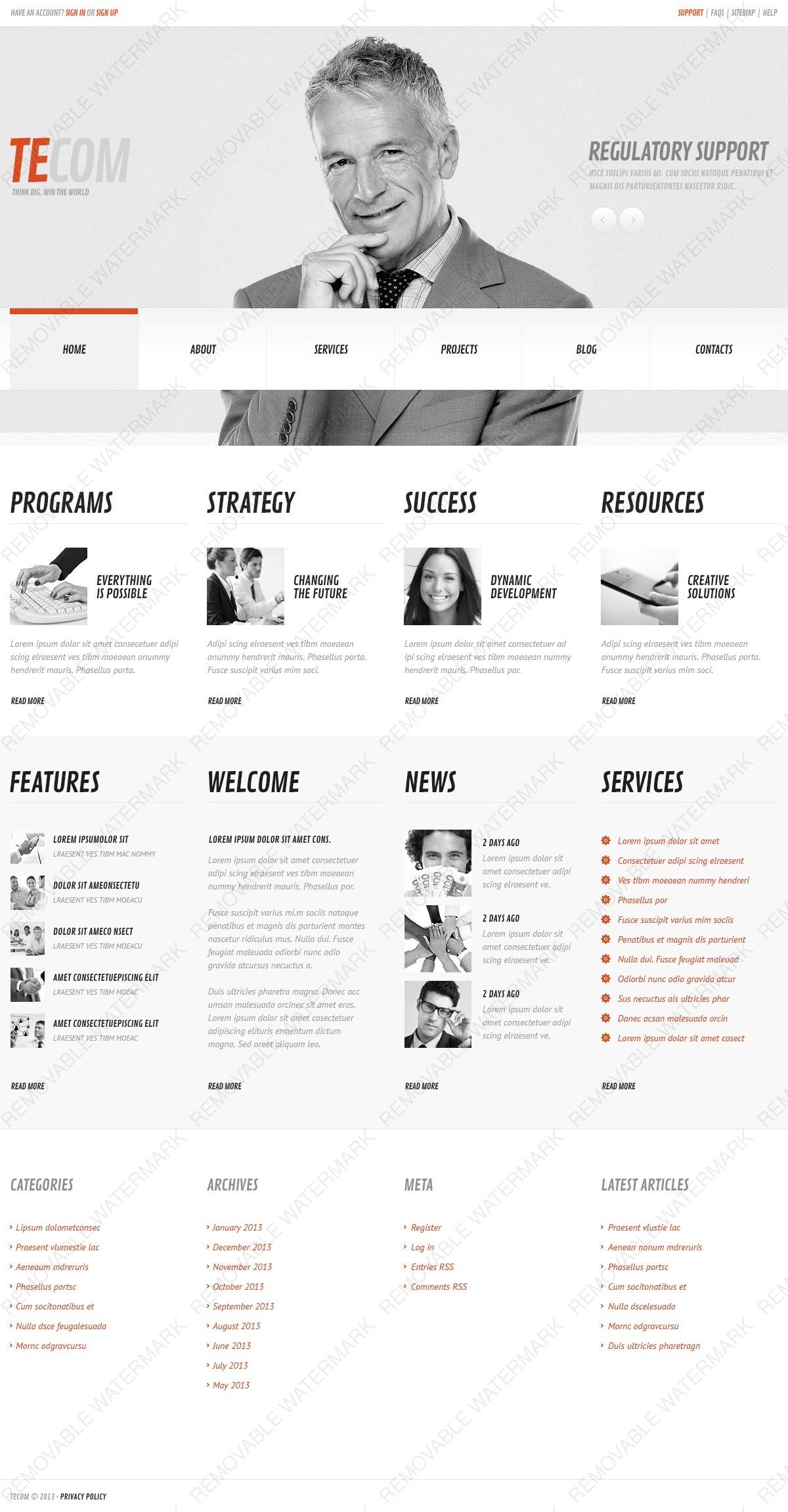 Темы и шаблоны WordPress шаблоны сайтов бесплатно