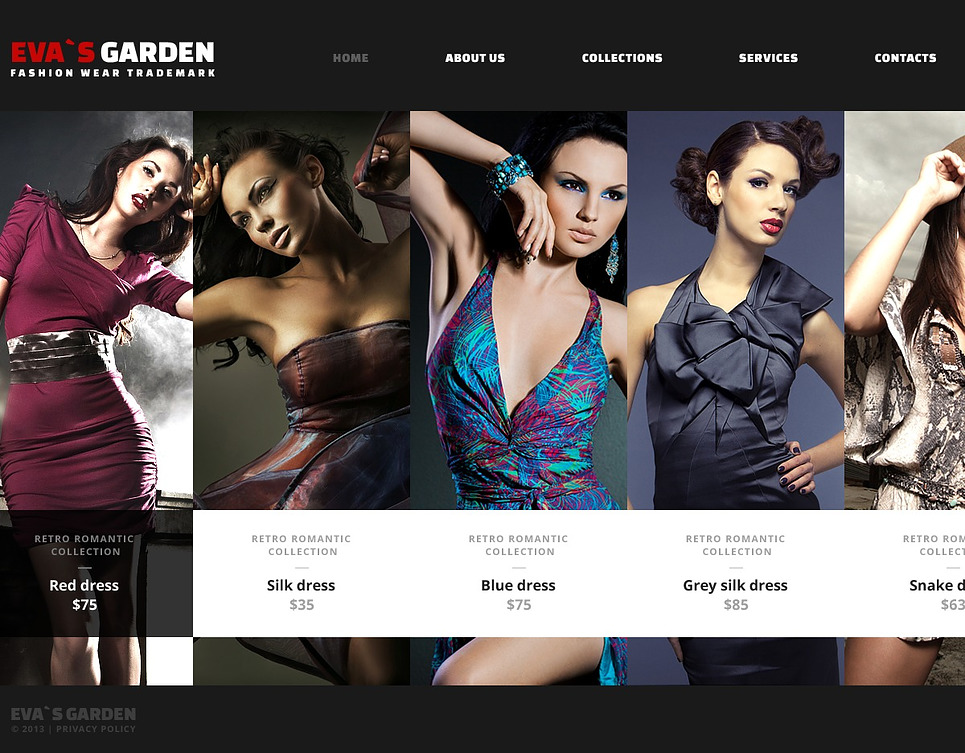 Fashion Wear Website Template Web Design Templates Website Templates Download Fashion Wear