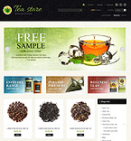 Tea Store - PrestaShop Theme #43886 by Di