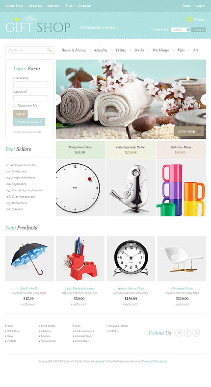 Virtuemart Template Modify Version