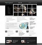 Stretched Flash CMS Theme #43911
