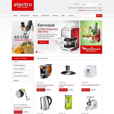 Купить  пофессиональные ZenCart шаблоны. Купить шаблон #43914 и создать сайт.