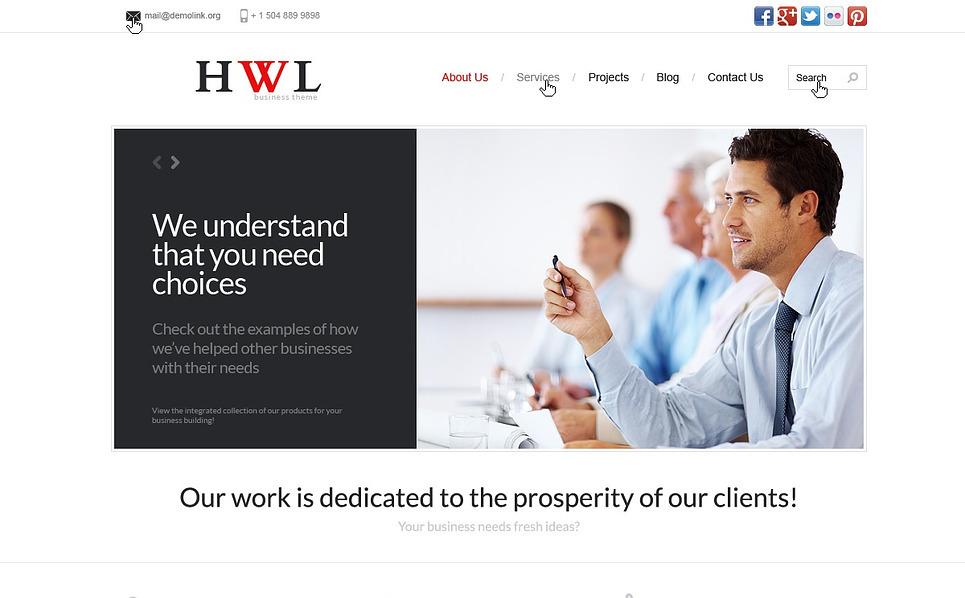 Marketing Agency WordPress Theme New Screenshots BIG