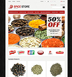 Spice Store - PrestaShop Theme #43975 by Di